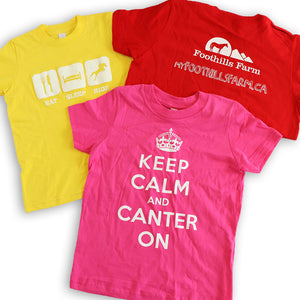 Children's Ridding Camp Tshirts