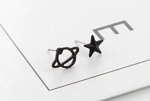 Planet & Star Earrings