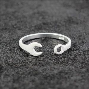 Silver Wrench Ring
