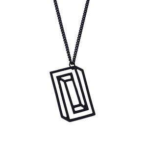 Optical Illusion Necklace
