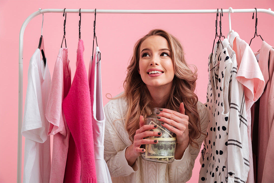 How to save money on clothing and end up with a killer wardrobe!