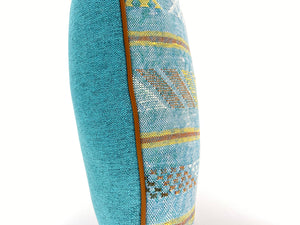 Vintage Rug Turquoise Pillow