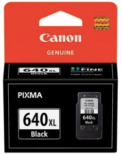 Canon  Genuine PG-640XL Black High Yield Ink Cartridge - 400 pages