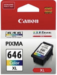 Canon Genuine CL-646XL Colour High Yield Ink - 400 pages