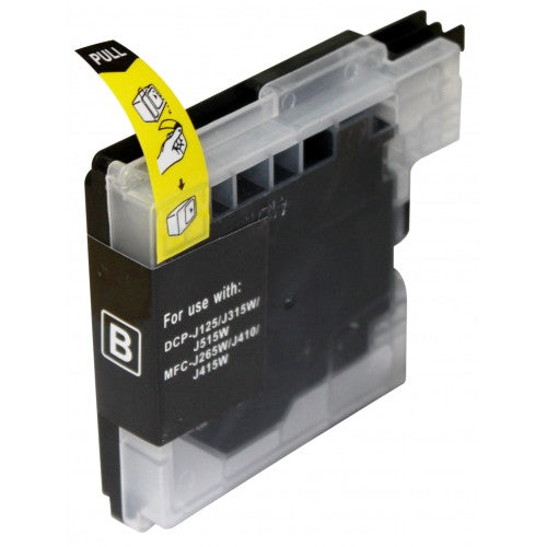 1 set (4pcs) Compatible Brother LC38/39XLBK,C,M,Y Inkjet Cartridges