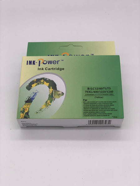 Compatible Brother LC73/77XLY High Yield Inkjet Cartridge - 1200 pages