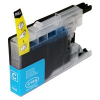 1 set (4pcs) Compatible Brother LC73/77XLBK,C,M,Y High Yield Inkjet Cartridges