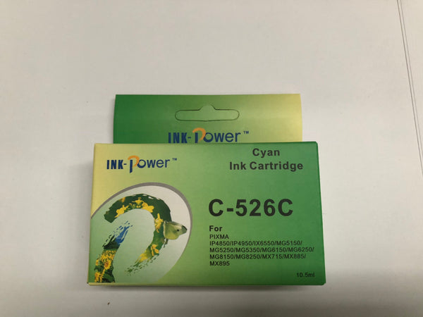 Canon CLI-526XLC Compatible High Yield Inkjet Cartridge