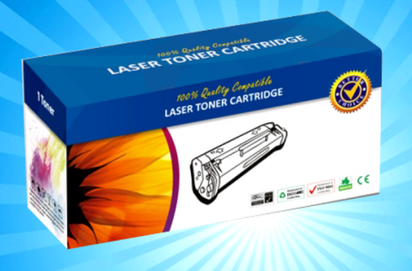 Brother Compatible TN240 Yellow High Yield Toner Cartridge - 1,400 pages