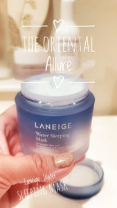 Laneige Water Sleeping Mask moisturizes and revitalizes skin.