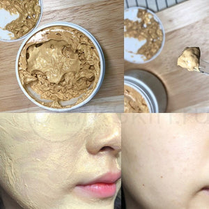 This Korean mask helps remove impurities and tightens pores at the same time.