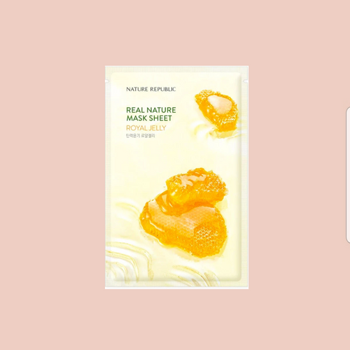NATURE REPUBLIC - Real Nature Royal Jelly Sheet Mask