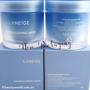 Laneige Water Sleeping Mask New Packaging at Kbeautyworld Australia