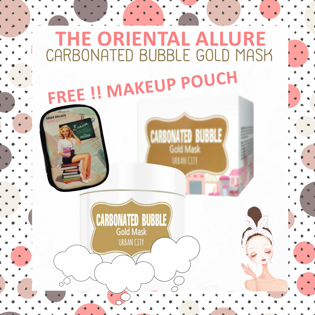 Urban City - Carbonated Bubble Gold Mask