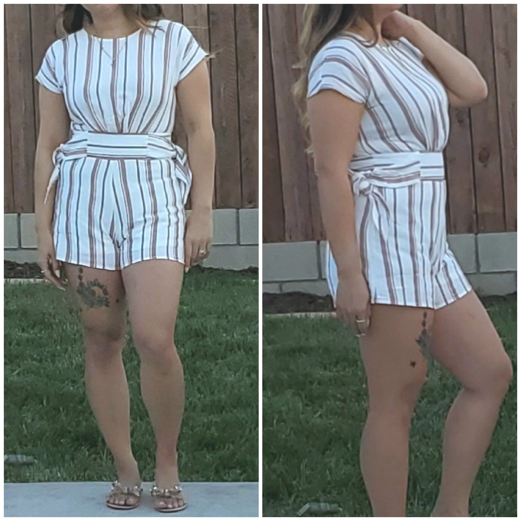 Look my way romper - Luxor Boutique