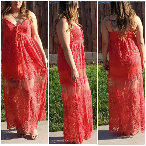 Lacey Dress - Luxor Boutique
