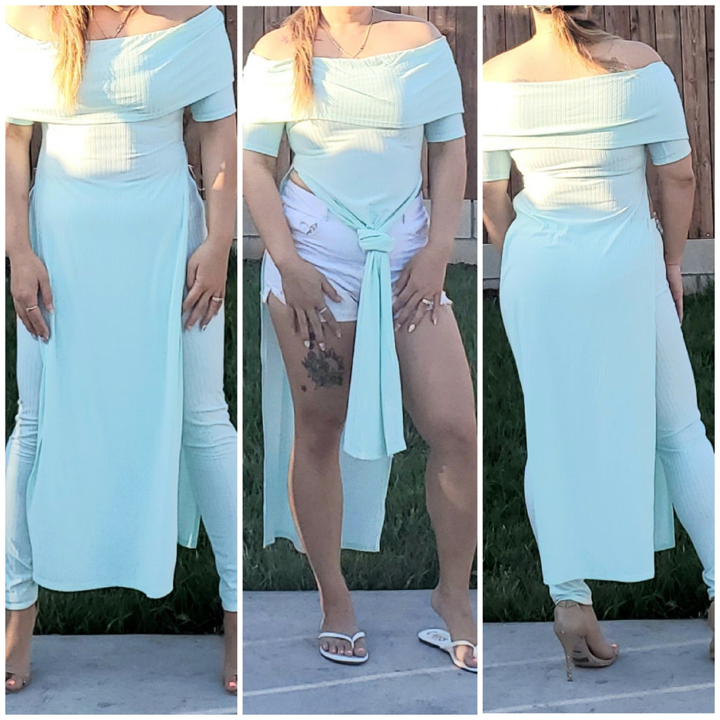 Mint green spring set - Luxor Boutique