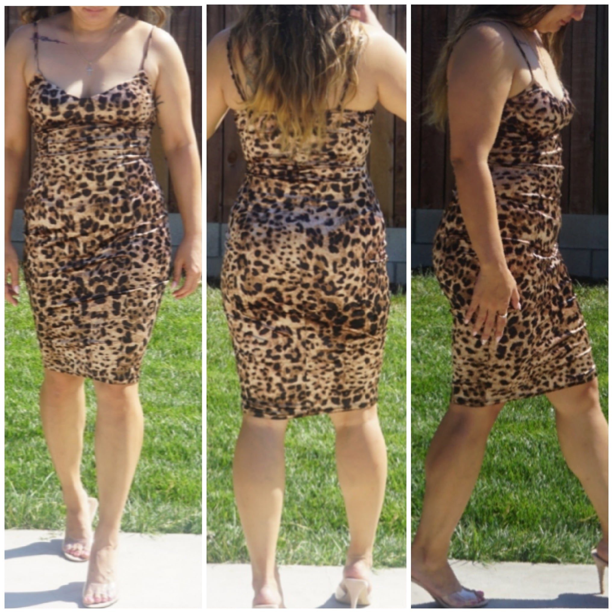 Leopard Dress - Luxor Boutique