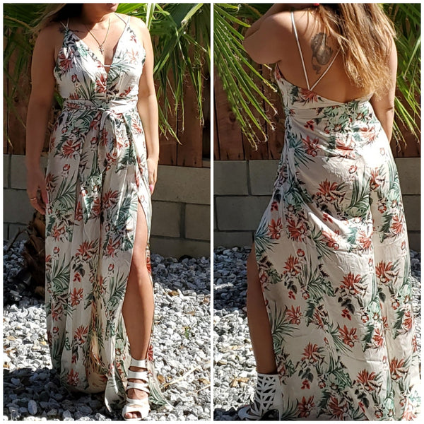 Island girl jumpsuit - Luxor Boutique