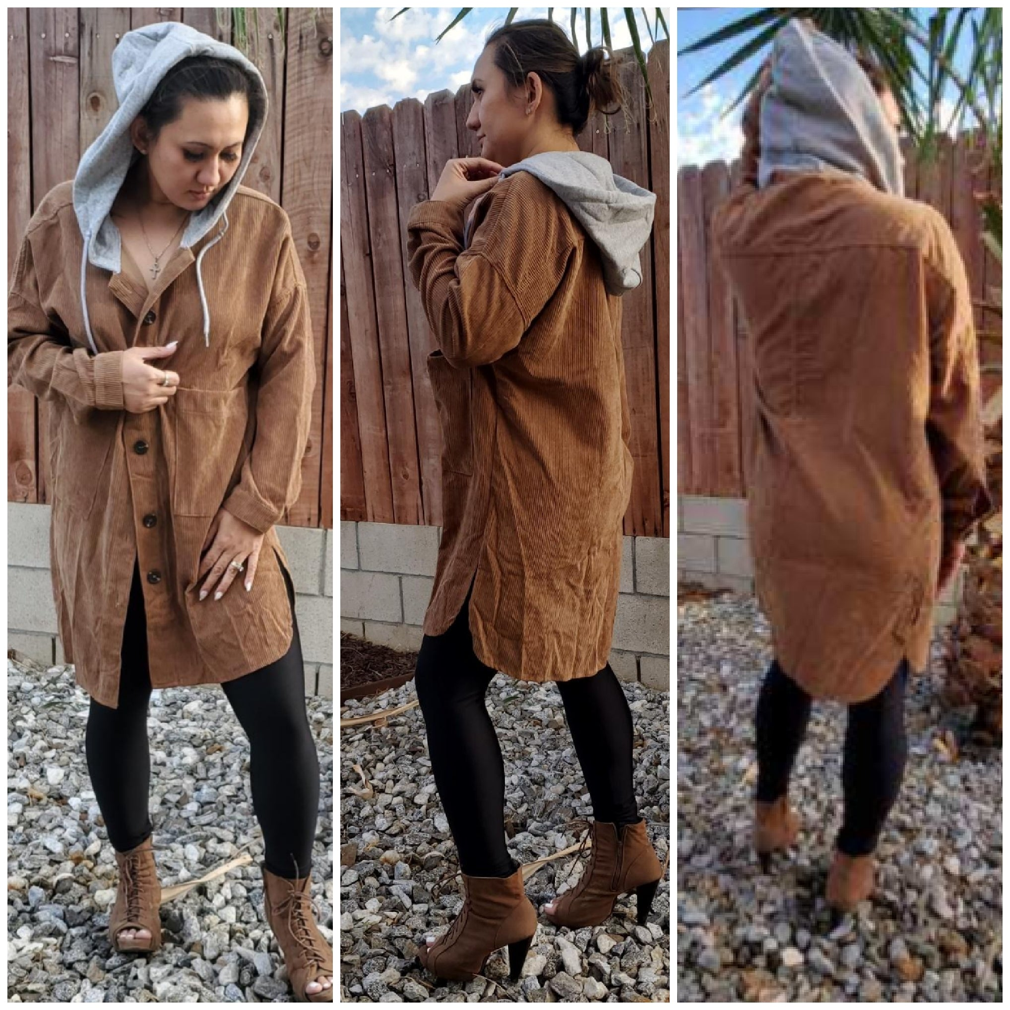 Corduroy coat - Luxor Boutique