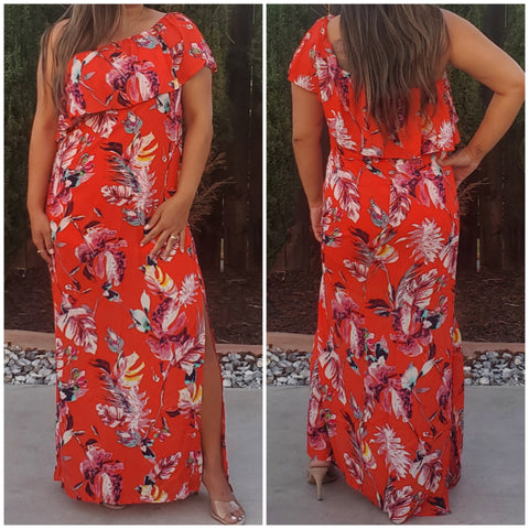 Caribbean maxi dress - Luxor Boutique
