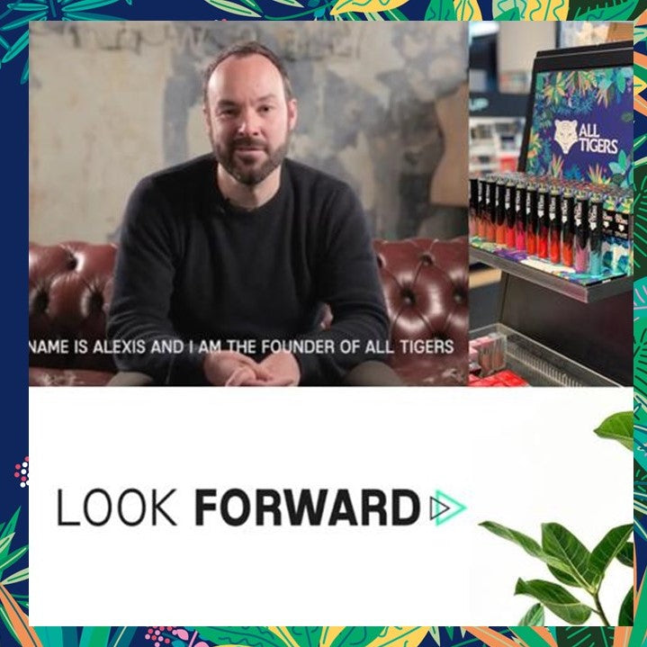 Look Forward : l'interview vidéo du fondateur de ALL TIGERS