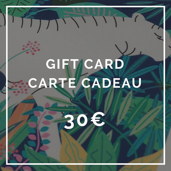 Makeup gift card - Carte cadeau maquillage