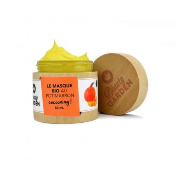 Masque bio cocooning au potimarron Beauty Garden