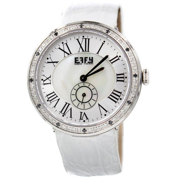 Effy Roman Diamond Mother-of-Pearl Dial Unisex Watch