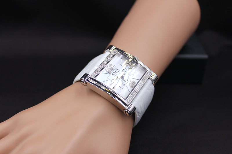 Effy Panther Diamond Mother-of-Pearl Dial Unisex Watch