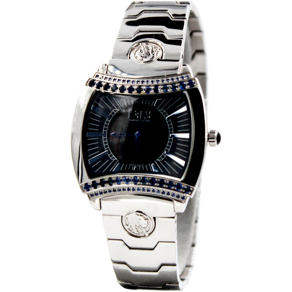 Effy Greek Black Parthenon Styled 1.08 ct Diamond Watch