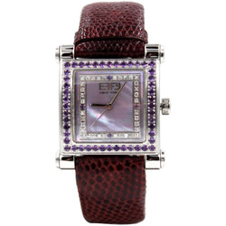 Effy Park Avenue 0.42 ct Diamond & Amethyst Mother-of-Pearl Dial Ladies Watch