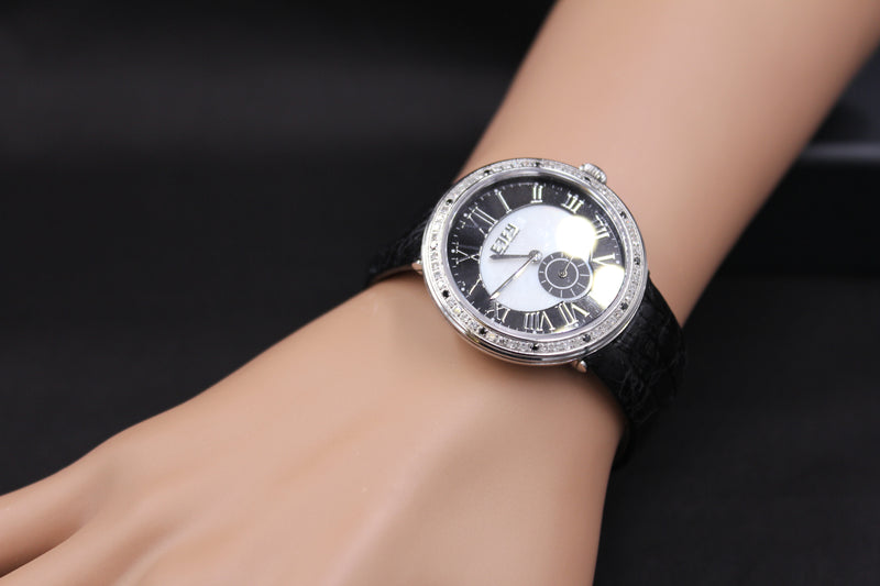 Effy Roman Diamonds Mother-of-Pearl Dial Unisex Watch