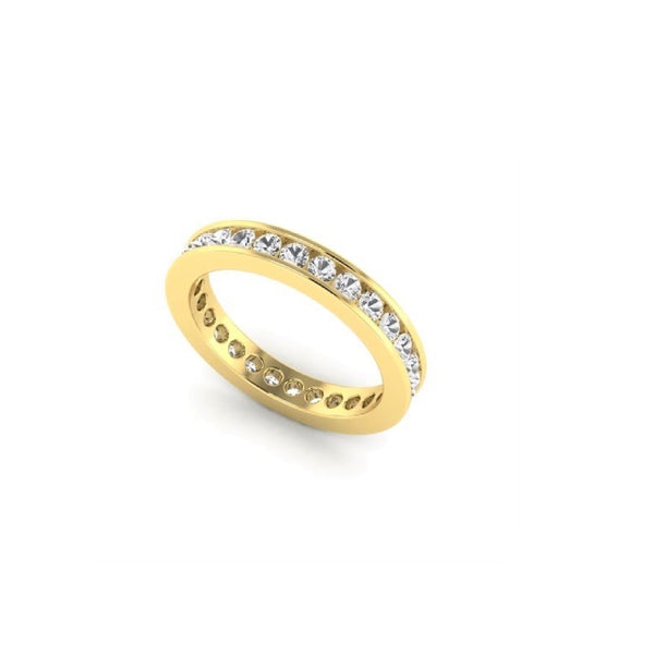 1.75 CT Diamond Channel Band