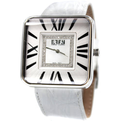 Effy Union Square Diamond Mother-of-Pearl Dial Unisex Watch