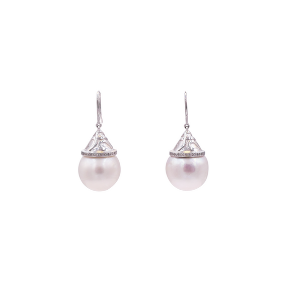Fresh Water Pearl Stud Earrings