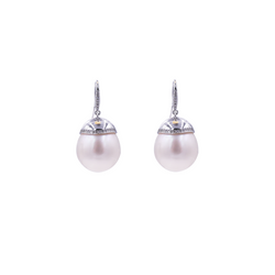 South Sea Pearl Diamonds Earrings