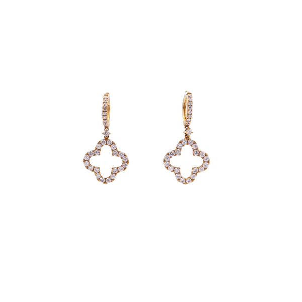 Clover Diamond Earrings