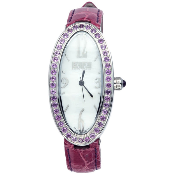 Effy Liberty 1.65 ct Amethyst Mother-of-Pearl Dial Ladies Watch