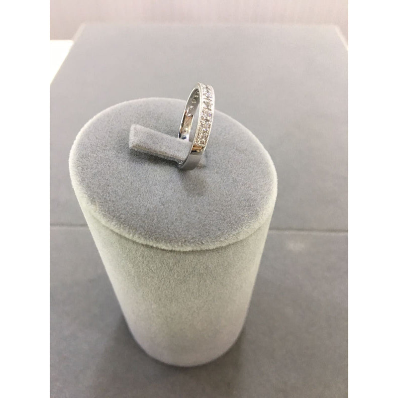 Channel Set 0.29 ct Diamond Wedding Band 14K Ring