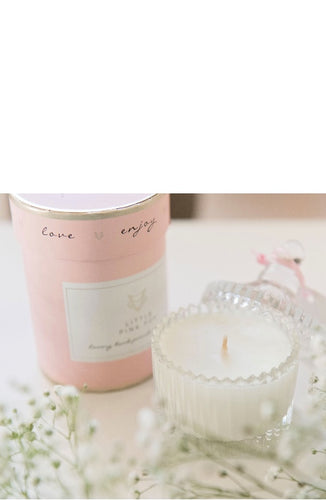 Little Pink Fox French Pear Soy Candle
