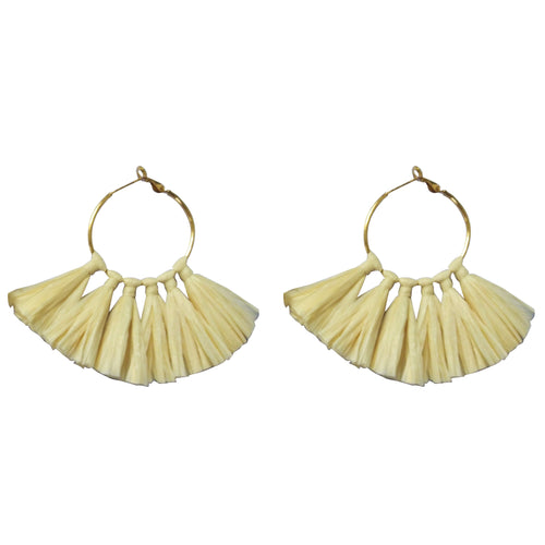 Oasis Tassel Earrings