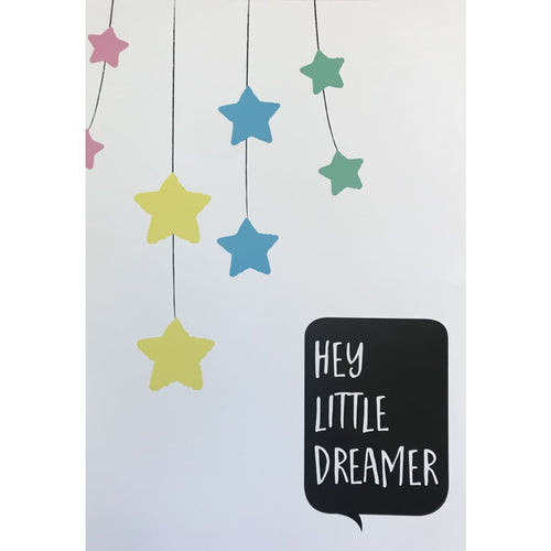 Along Came a Baby Wall Print - Little Dreamer - Wall Print