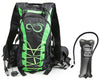 Hydration Backpack With 2.0 Liter Leak Proof Water Bladder- Camel Pack Hiking