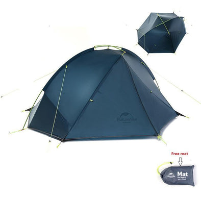 Outdoor camping hiking 3 Season Double Layer Windproof Tent