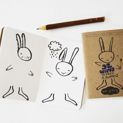 ACTIVITY BOOK // 32 WAYS TO DRESS A RABBIT