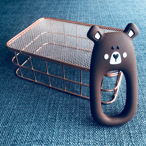TEETHER // BEAR (BROWN)