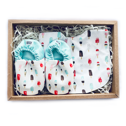 BIB x MINI SHOES GIFT SET - POPSICLES