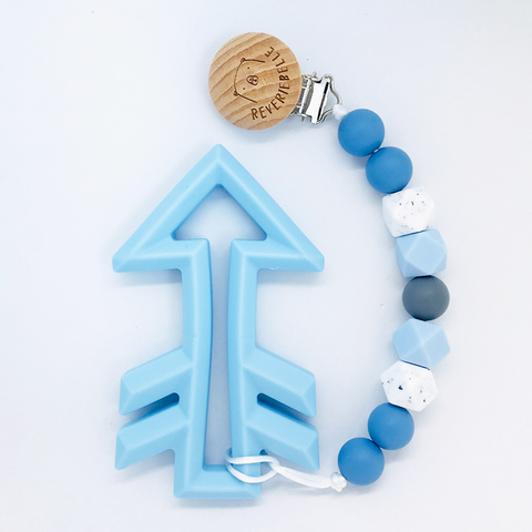 TEETHER SET // ARROW - BLUE