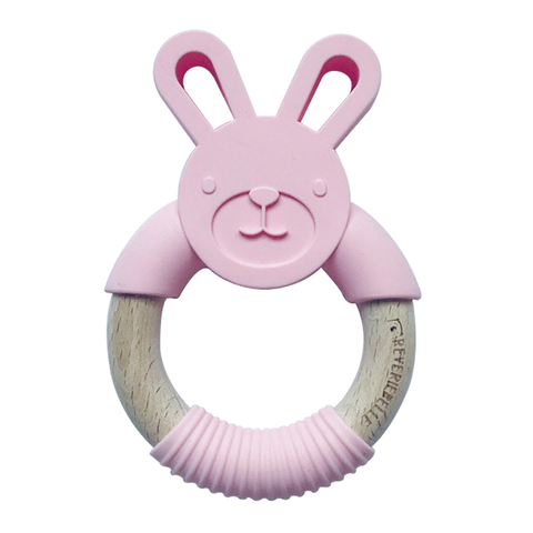 TEETHER // BUNNY -  COTTON CANDY